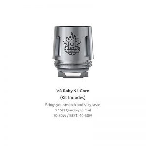 authentic-smoktech-smok-tfv8-baby-tank-v8-baby-x4-coil-head-silver-stainless-steel-015-ohm-5-pcs