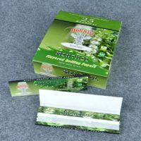 Hornet-Menthol-110mm-25X32-Leaves-Handroll-Flavored-Rolling-Papers-ES-RP-033-