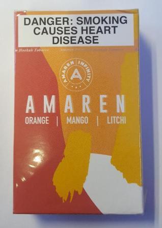 Amaren Orange mango litchi
