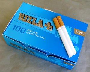 rizla+ cigarette tubes 100