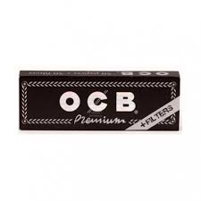 OCB BLACK 1.1/4 WITH FILTERS