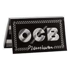 OCB BLACK DOUBLE BOOKLET